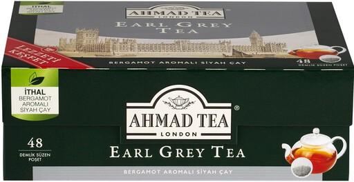 Ahmad Tea Earl Grey Demlik Poşet Çay 48'li