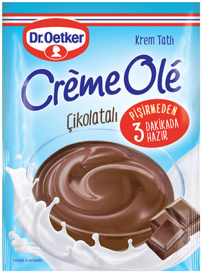 Dr. Oetker Creme Olé Çikolatalı Krem Tatlı 125 gr