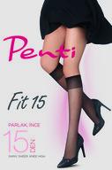 Penti Siyah Fit 15 Pantolon Çorabı