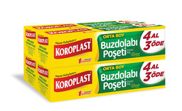 Koroplast 4 Al 3 Öde Buzdolabı Poşeti Orta 30'lu