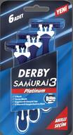 Derby Samurai Platinum 3 Bıçaklı 6'lı