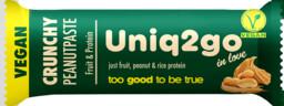 Uniq2go In Love Vegan Crunchy Peanutpaste 32 gr