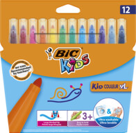 Bic Kids Kid Couleur XL Keçeli Boya Kalemi 12'li Kutu