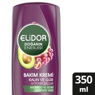 Elidor Avokado Kalın ve Gür Saçlar Saç Kremi 350 ml