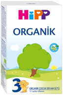 Hipp 3 Organik Devam Sütü 300 gr