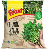 Dondurulmuş Feast Organik Ispanak 450 gr