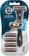 Bic Flex 3 Hybrid Tıraş Bıçağı 4 Kartuşlu 3 Bıçaklı