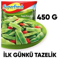 Dondurulmuş Superfresh Taze Fasulye 450 gr