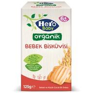 Hero Baby Organik Bebek Bisküvisi 125g
