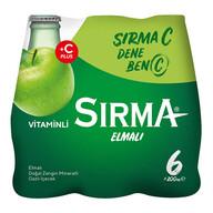 Sırma C+ Elma 6x200 ml