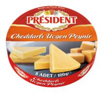 President Üçgen Peynir Cheddarlı 100 gr