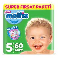 Molfix Junior Çift Sıra Süper Fırsat Paketi 60'lı