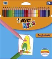Bic Kids Tropicolor Kuru Boya Kalemi 24'lü Kutu