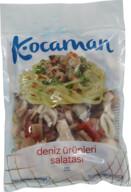 Dondurulmuş Kocaman Deniz Ürünleri Salatası %20 Glaze 400 gr