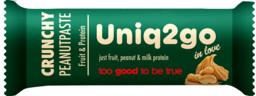 Uniq2go In Love Crunchy Peanut Paste 32 gr