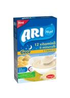 Arı 12 Vitaminli 6 Mineralli Sütlü 7 Tahıllı Pirinçli Gece 250 gr