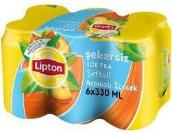Lipton Ice Tea Light Şeftali 6x330 ml