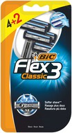 Bic Flex 3 Tıraş Bıçağı 4+2'li Blister 3 Bıçaklı