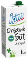 İçim Organik Süt 1 L