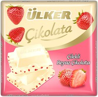 Ülker Beyaz Çilekli Çikolata 60 gr