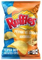 Ruffles Maximum Peynir&Soğan Süper 107 gr