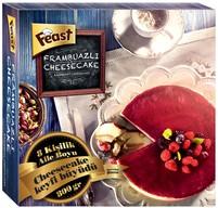 Dondurulmuş Feast Frambuazlı Cheesecake 800 gr