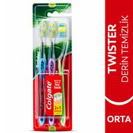 Colgate Twister Diş Fırçası Orta 2+1