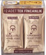 Kuru Kahveci Mehmet Efendi 12x6 gr