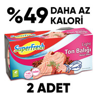 Superfresh Ton Light 2x160 gr
