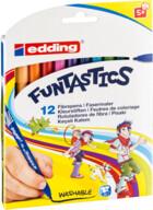 Edding Funtastics 15 Keçe Uçlu Kalem İnce 12'li Kutu