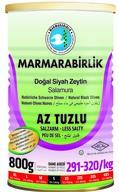 Marmarabirlik Az Tuzlu Doğal Siyah Zeytin 800 gr