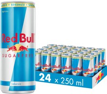Red Bull Enerji İçeceği Şekersiz 24x250 ml