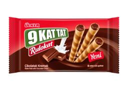 Ülker 9 Kat Tat Rulokat Çikolata Kremalı 42 gr