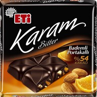 Eti Karam Portakal Bademli Bitter 60 gr