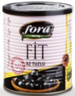 Fora Fit Az Tuzlu Az Yağlı Siyah Zeytin 430 gr