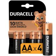 Duracell Basic Kalem Pil 4'lü AA