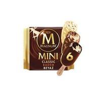 Magnum Mini Classic, Badem, Beyaz 6'lı