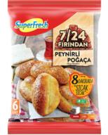 Dondurulmuş Superfresh Peynirli Poğaça 450 gr