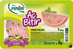 Pınar Salam Aç Bitir Hindi Fıstıklı 50 gr