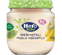Hero Baby Prebiyotik Muzlu Yoğurtlu 120 gr