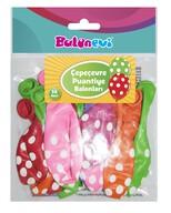 Çepeçevre Puantiye Baskılı Karışık Renk Balon 14'lü