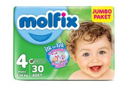 Molfix 3D Maxi 30'lu Jumbo Paket