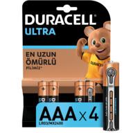 Duracell Turbo Max İnce Kalem Pil 4'lü AAA