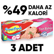 Superfresh Ton Light 3x80 gr