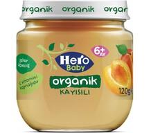 Hero Baby Organik Kayısılı 120 gr