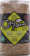 City Farm Organik Yeşil Mercimek 1 kg
