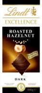 Lindt Excellence Roasted Hazelnut Dark 100 gr