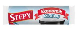 Stepy Ekonomik Mini Boy Çöp Torbası 40'lı