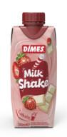 Dimes Milkshake Çilek&Beyaz Çikolata 310 ml