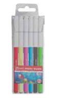 Mikro Zw-607 Keçeli Kalem 6 Renk